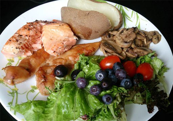 Camping And Healthier Eating…