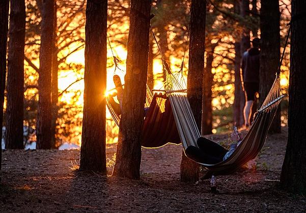 Camping And Sleep…