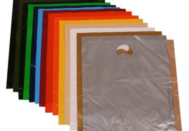 Punch Handle Carrier Bags