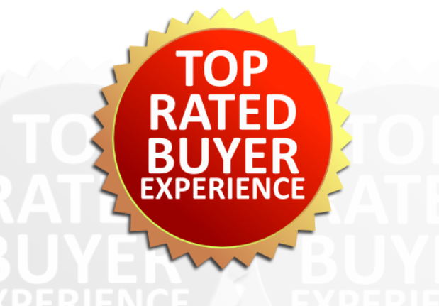 Top Rated Buyer Experience…